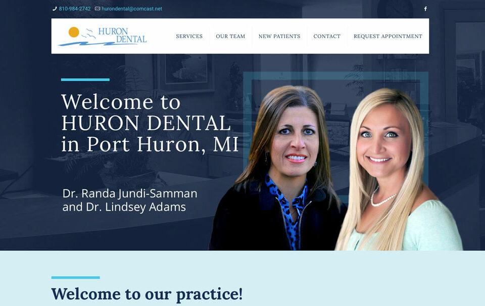 Huron Dental Website