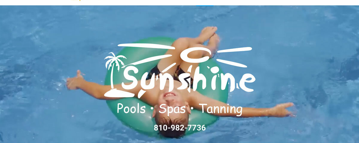 Sunshine Pools Website